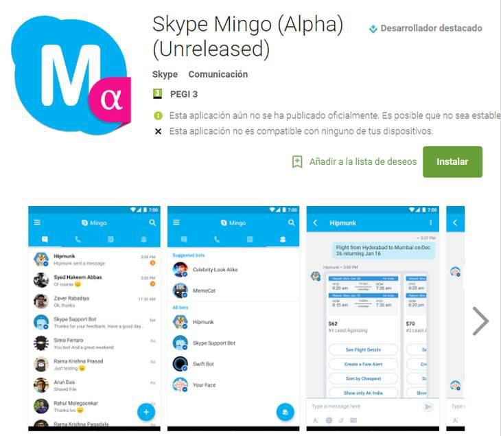 skypemingo