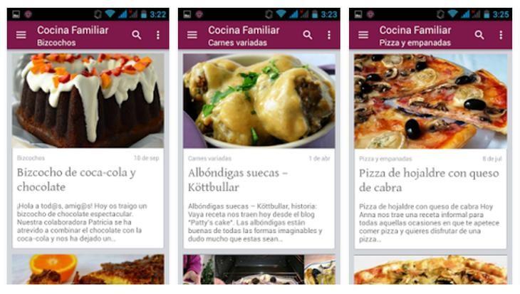 Imagen: Capturas de Cocina Familiar