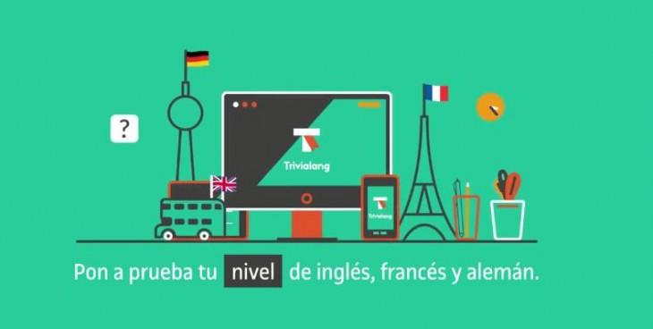 Trivialang, un juego para mejorar nuestro inglés, francés y alemán