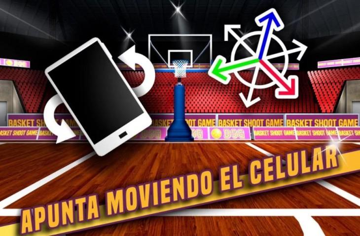 Juegos de baloncesto (para hacer canastas) en Android