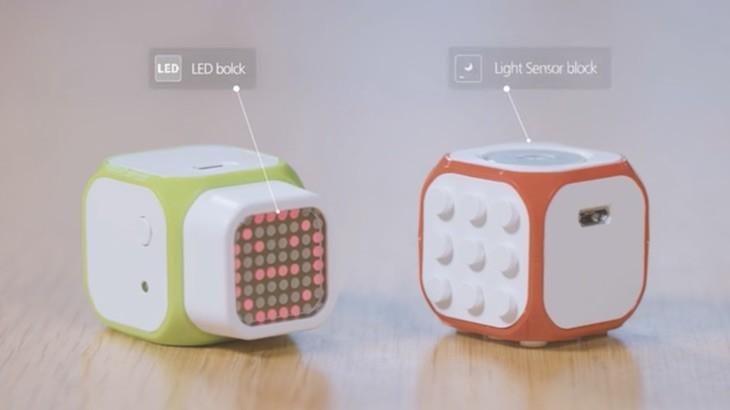 Cubroid, un set de cubos inalámbricos para que los niños aprendan a programar