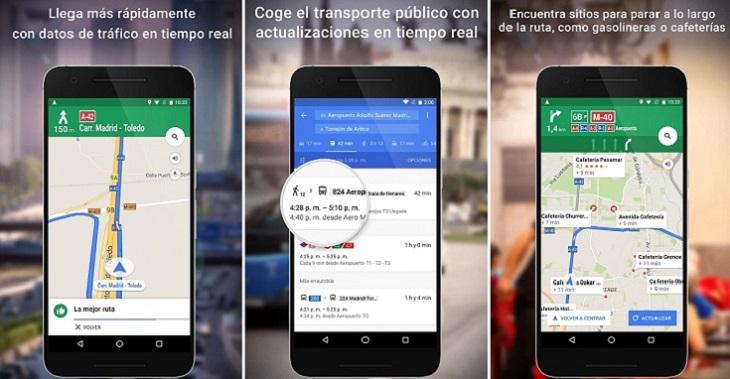 4 apps de GPS para navegar en Android