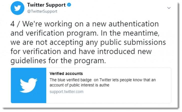 twitter eliminará estado verificación cuentas violen nuevas pautas