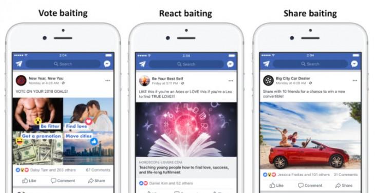 Facebook penalizará las publicaciones que pidan dar like, compartir o etiquetar amigos