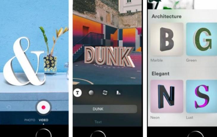 Una app para incluir letras en el mundo real (Realidad Aumentada)