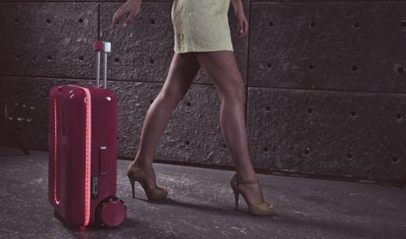 Esta maleta robot sigue a su dueño a todas partes
