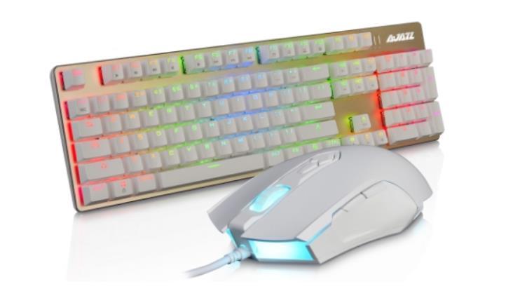 Teclado y ratón gaming AJAZZ, excelente diseño ergonómico y a precio de oferta