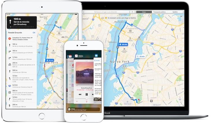 Los mapas de Apple ya incluyen información de bicicletas compartidas en 179 ciudades