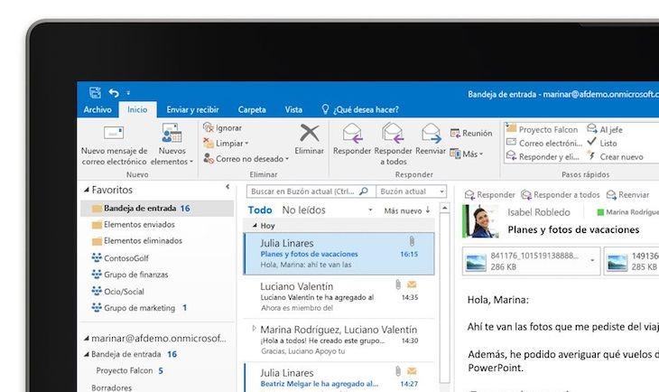 Microsoft trabaja en la integración de Cortana con Outlook en iOS y Android