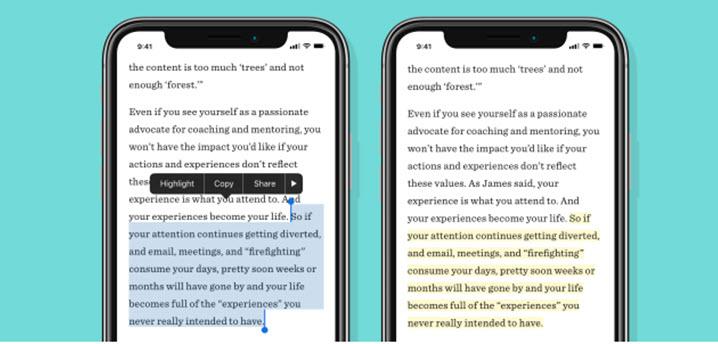 Pocket añade nueva función en iOS para resaltar contenido importante