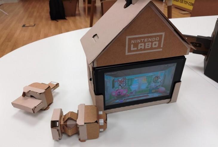 La casa mágica de Nintendo Labo, os explicamos cómo funciona