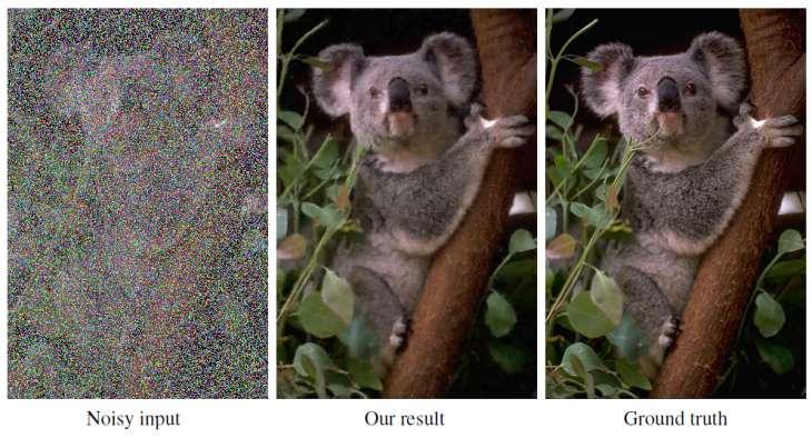 nvidia entrena red neuronal capaz eliminar ruidos fotografías