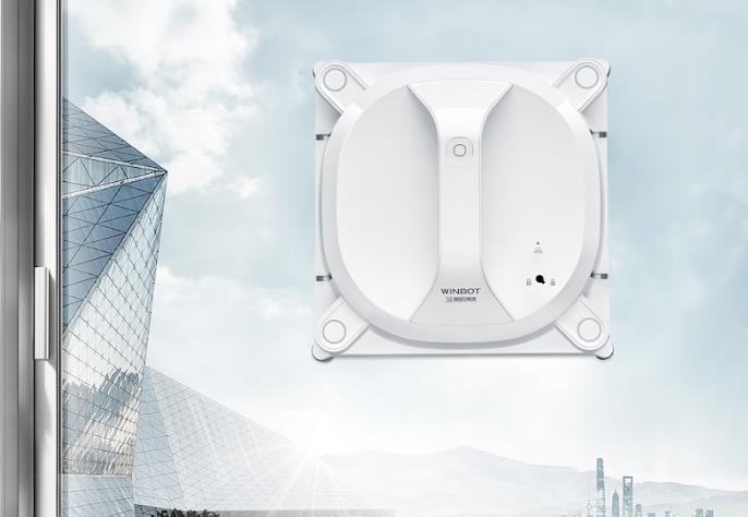 Así es WINBOT X, el robot limpia ventanas inalámbrico
