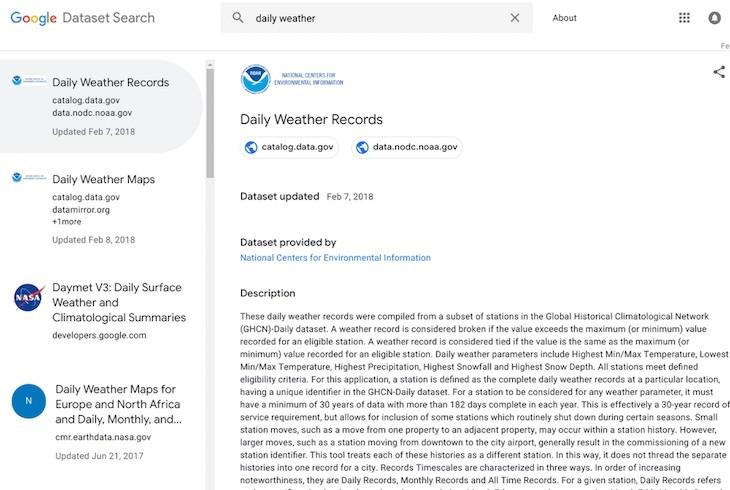 Google lanza buscador de datos públicos orientado a investigadores y periodistas