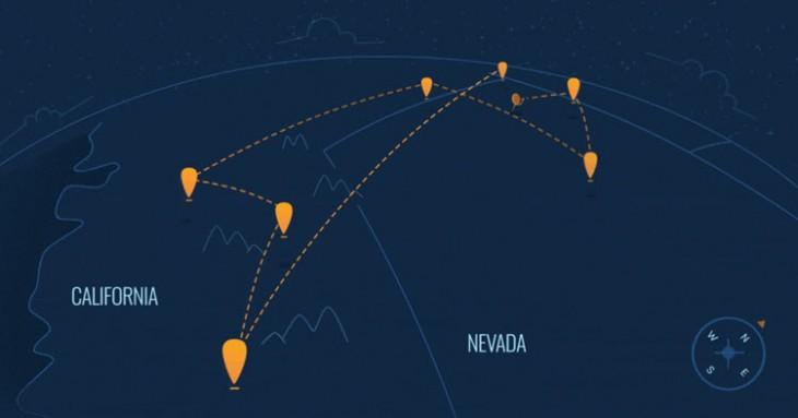 globos loon logran crear red conectividad casi 1000