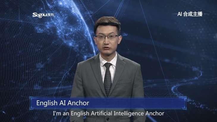 Así son los presentadores virtuales de noticias