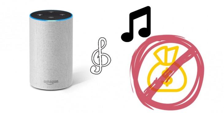 Amazon Echo (Alexa) podrá poner música gratis para todos los usuarios