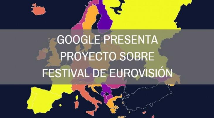 google usa búsquedas crear proyecto eurovisión
