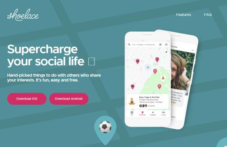 Shoelace, la nueva red social de Google para compartir eventos