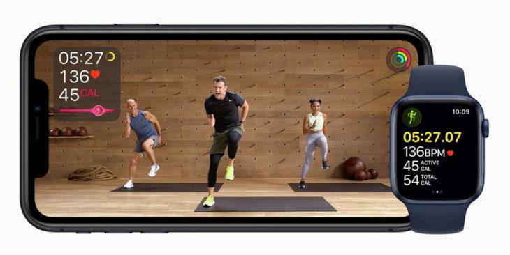 Así es el nuevo servicio de Apple para entrenar desde casa con clases virtuales