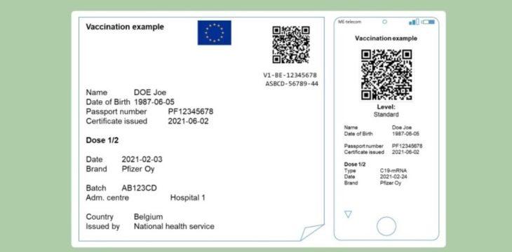 Cómo tener el pasaporte europeo COVID desde un móvil Android