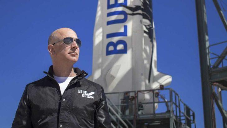 Jeff Bezos solicitó a la NASA un contrato para construir un módulo de aterrizaje lunar