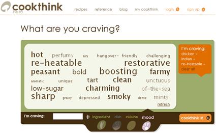 Ingredientes de Cookthink