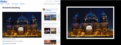 Comparación de fotos con blackr