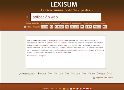 Lexisum