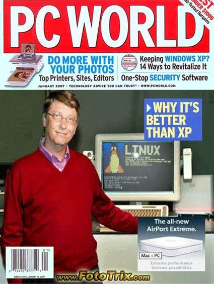 Bill Gates apoya Linux