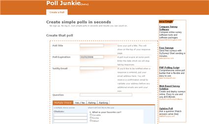 Poll Junkie
