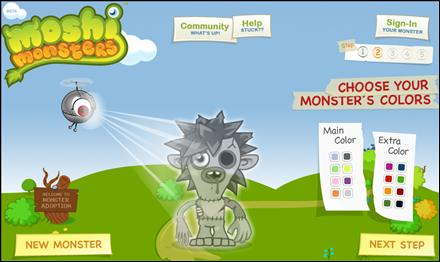 Moshi Monsters Adopta Un Monstruo En La Web 2 0