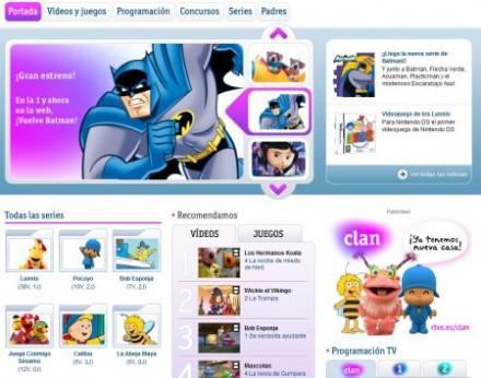 Clan  Nuevo portal infantil de RTVE