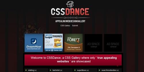 css dance