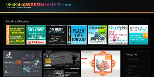 css design awards gallery