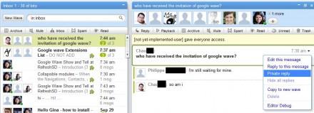respuestas privadas