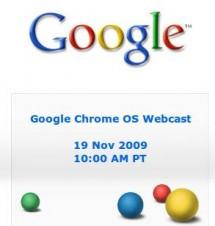 Google Chrome OS Webcast