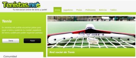 Tenistas: comunidad de tenis y padel