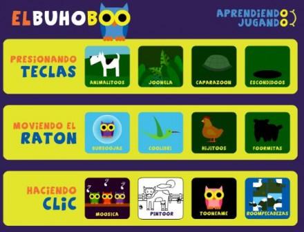 El Buho Boo Mas Juegos Gratuitos Para Ninos