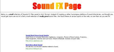 Sounds FX Page