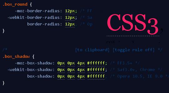 Cross browser CSS3 rule generator