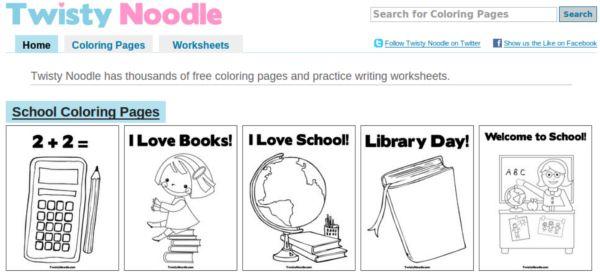 Twisty Noodle Dibujos Para Colorear Educativos Y Personalizables