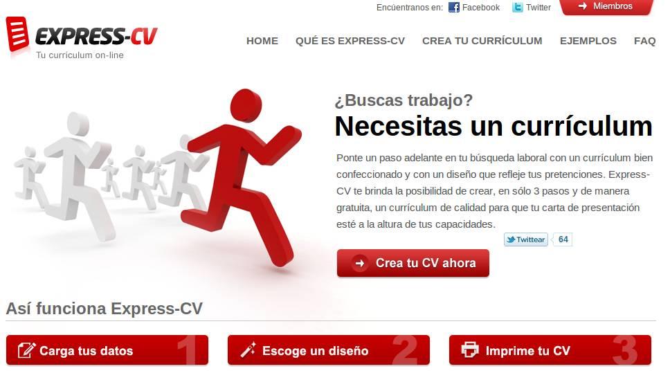 Express Cv Crea Disena Y Publica Tu Curriculum En Espanol