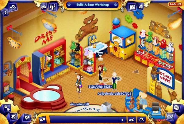 Juegos Online Y Mundos Virtuales Para Ninas