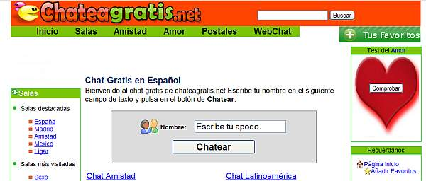 chat gratis sin registrar