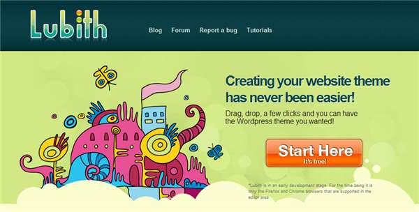 Lubith – Un intuitivo y potente generador de temas de WordPress