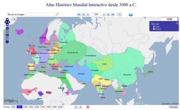 Atlas Historico Mundial Interactivo Desde 3000 A C