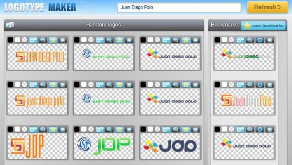 Logotypemaker un generador autom tico de logotipos for Generador de logos