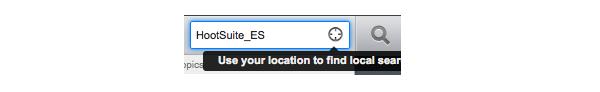 Geolocaliza en HootSuite