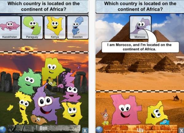 Aplicaciones para que los nios aprendan sobre geografa y